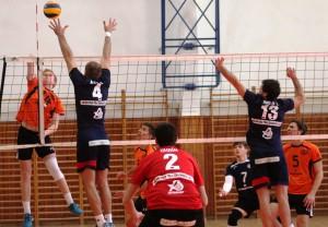 1.liga Volejbal muži sezóna 2016 2017 14dvojkolo MVK NMnV B 4